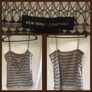 New York Company..summery top/blouse straps